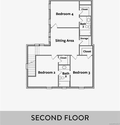 4750 Grassmere Street, Montgomery, Alabama, 4 Bedrooms Bedrooms, ,3 BathroomsBathrooms,Residential,For Sale,Grassmere,474890